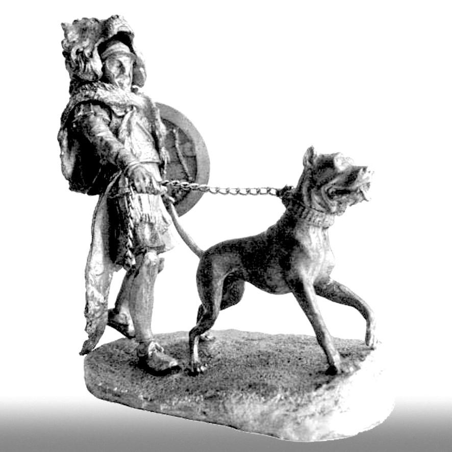 Воин с собакой, Пунические войны, ІІ век до н. э.