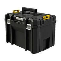 Ящик инструментальний DeWALT TSTAK VI, 23л объем, для хранения больших ручных и электроинструментов.