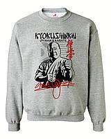 """Свитшот на флисе """"Kyokushinkai karate"""""""