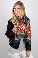 Женский шарф хлопковый