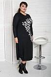 Платье женское Турция Черный,Темно Синий, фото 4