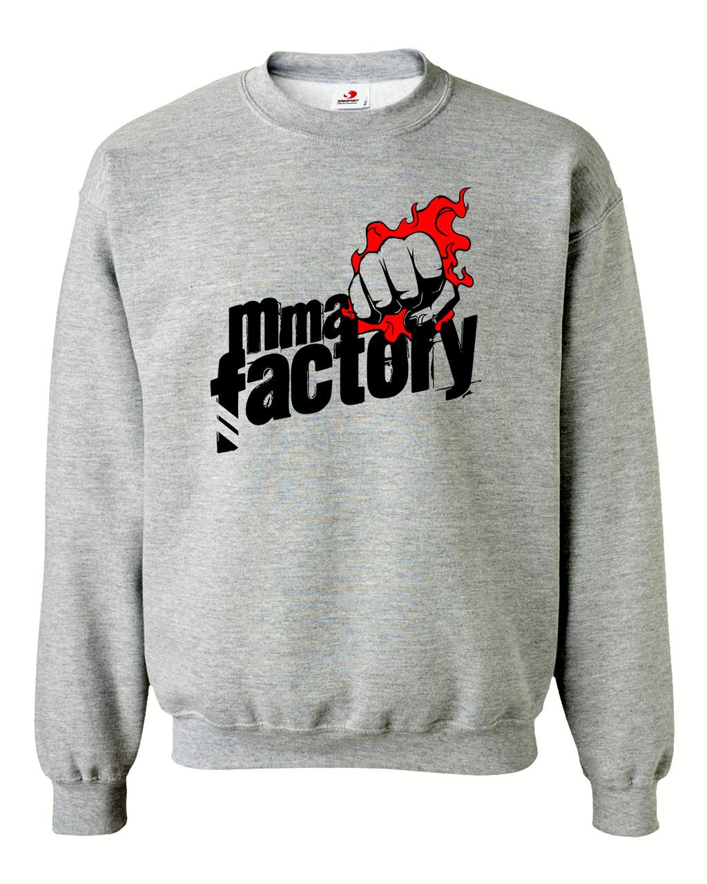 """Свитшот на флисе """"MMA Factory"""""""