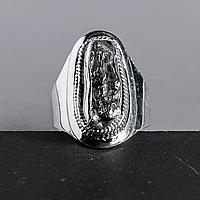 Метеорит Кампо-дель-Сьело, серебро 925, кольцо, 927КЦМ