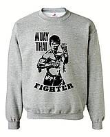 """Свитшот на флисе """"Muay Thai boxing"""""""