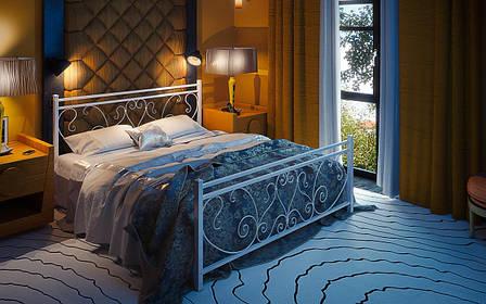 Кровать металлическая Монстера Tenero, фото 2