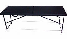 Косметологическая кушетка - массажный стол, чёрная