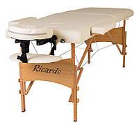 Массажный стол Ricardo ROMA-60 Бежевый