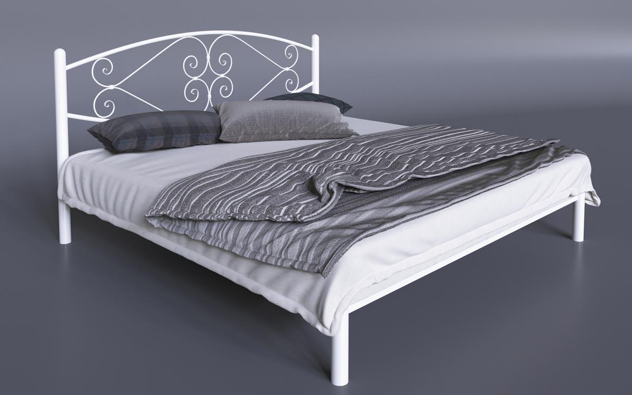 Кровать металлическая Камелия Tenero
