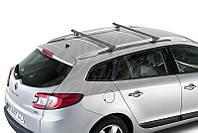 Багажник на крышу с рейлингами Cruz SR (стальной)