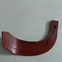 Нож фрезы мототрактора правый, фото 2