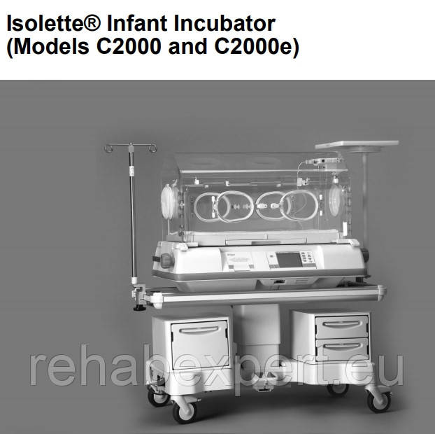 New Инкубатор Транспортный Drager C2000 Isolette Infant Incubator C2HS-1C