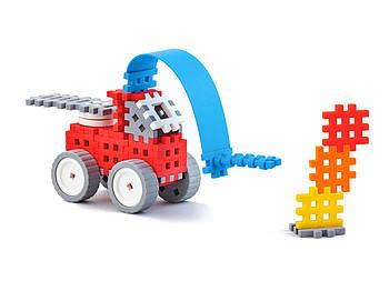 Конструктор Міні вафлі - Пожежник (маленький) Виробництво Польща Гарантія якості Швидка доставка