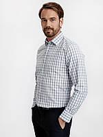 Мужская рубашка LC Waikiki / ЛС Вайкики в голубую клетку и красную клетку, фото 1