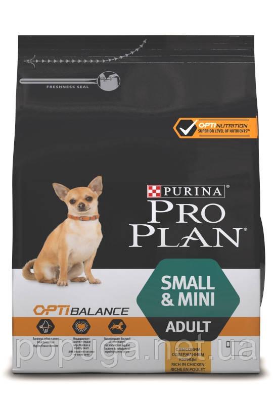 Корм Purina Pro Plan Adult Small and Mini Optibalance для взрослых собак маленьких пород , 700 г