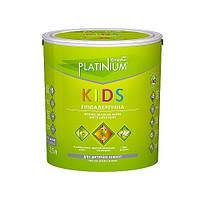 Гіпоалергіна латексна фарба для дитячих кімнат Sniezka PLATINIUM Kids МАТОВА  1л/1,35 кг