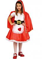 Карнавальный костюм Carnival Toys Красная шапочка рост 122-126 см