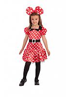 Карнавальный костюм Carnival Toys Минни маус рост 120-126 см
