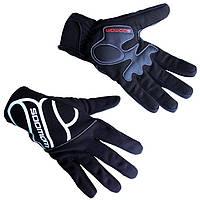 """Велосипедные перчатки зимние непродуваемые Sobike """"Valcano"""" с мембраной Windstopper"""