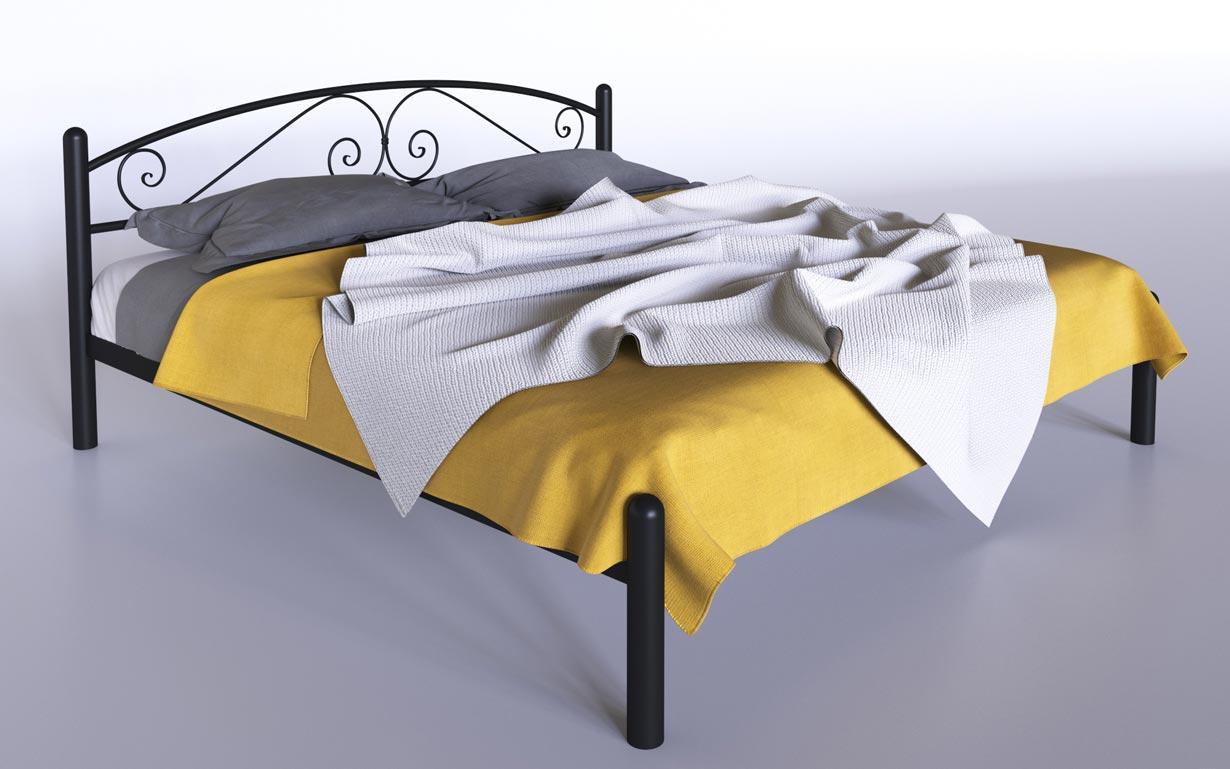 Кровать металлическая Виола Tenero