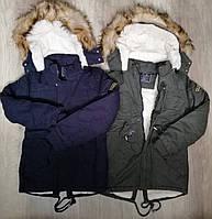 Куртки зимние для мальчика оптом, S&D, 8-18 рр