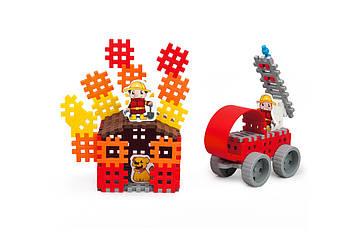 Конструктор Міні вафлі - Пожежник (середній) Виробництво Польща Гарантія якості Швидка доставка