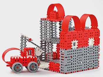 Конструктор Міні вафлі - Пожежник (великий) Виробництво Польща Гарантія якості Швидка доставка