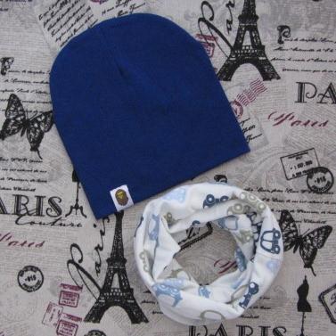 Демисезонный набор: детская шапка Варе и снуд