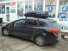 Установка автобокса на крышу автомобиля Kia Ceed SW 2