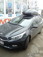 Установка автобокса на крышу автомобиля Kia Ceed SW 4
