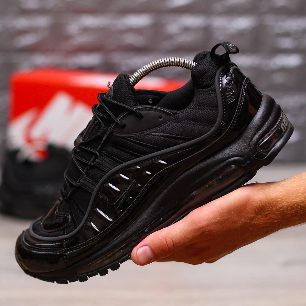 Nike Air Max 98 Black (реплика)