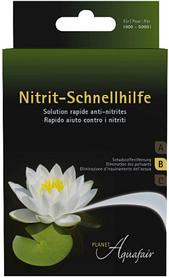 Nitrit–Schnellhilfe Planet Aquafair средство для снижения нитрита 4х50 гр