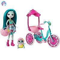 Набор Enchantimals прогулка на велосипеде Тейли Черепашка