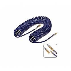 Спиральный шланг Alloid для пневмоинструмента 8-12 мм 15 м из полиуретана (ШП-81215)