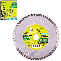 Алмазный отрезной диск Alloid Turbo Wave 180-22.23 мм 80 м/с для сухой резки DS-7180TW
