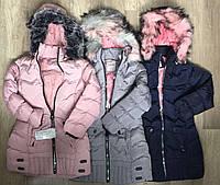 Куртки зимние для девочек S&D 8-16 лет.