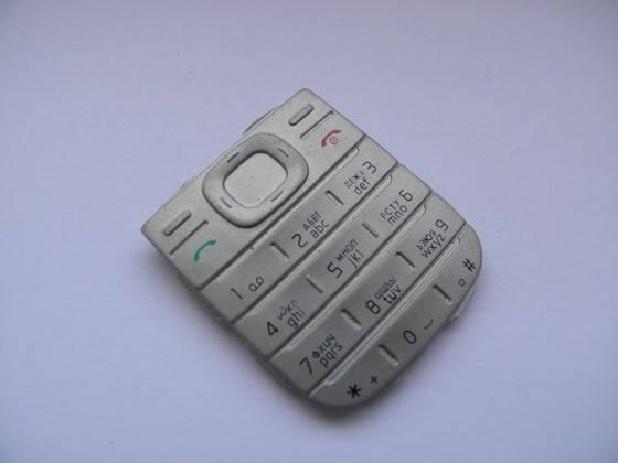 Клавиатура русская для nokia 1200, 1208 светлая, фото 2