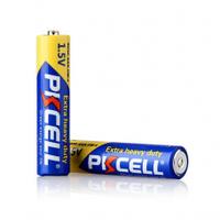 Батарейка солевая PKCELL 1.5V AAA/R03, 2 штуки в блистере цена за блистер, Q12