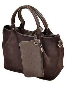 Женская сумка замш ALEX RAI PD 09-4 А646 brown