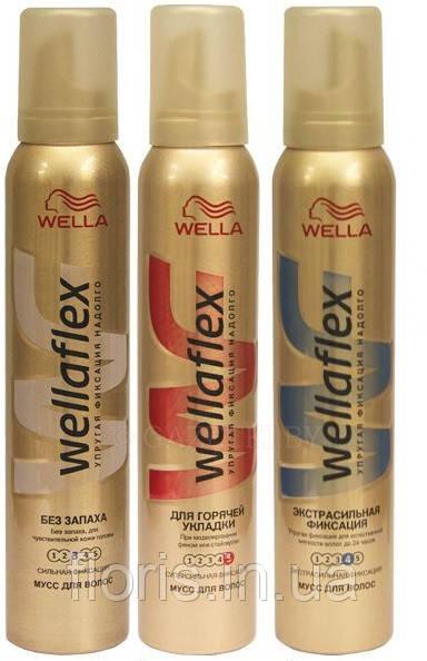 """Мус для волосся Wellaflex"""" 200мл"""