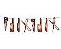 Гирлянда Кровавые ножи  инструменты