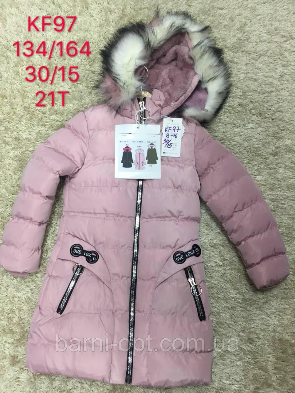 Куртки зимние для девочек оптом, S&D, 8-16 рр