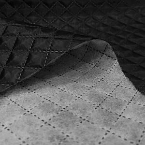 Подкладка стеганная на синтапоне, паянка черная