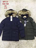 Куртки зимние для мальчиков S&D 134-164 рр.