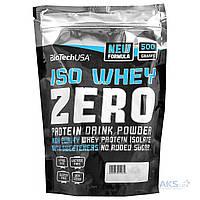 Протеин BioTech USA Iso Whey Zero 500g клубника
