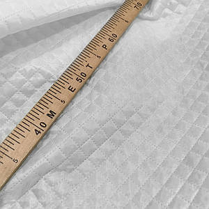Подкладка стеганная на синтапоне, паянка белая