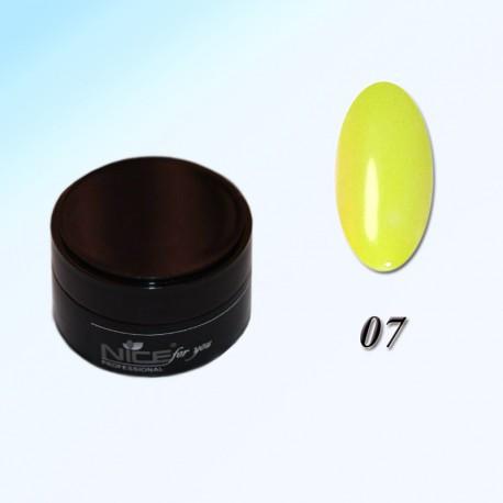 Гель краска для ногтей Nice Р-07