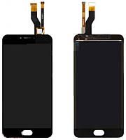 Дисплей (экран) для Huawei P8 (GRA-L09/GRA-UL00) + тачскрин, белый, с передней панелью