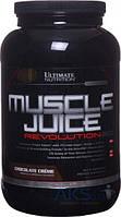 Гейнер Optimum Nutrition Muscle Juice Revolution 2100g ванильный крем