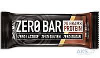 Протеиновый батончик BioTech USA Zero Bar 50g печенье с шоколадной крошкой