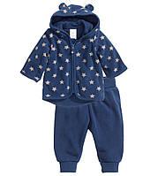 Детский флисовый комплект для мальчика  6-9 месяцев, фото 1